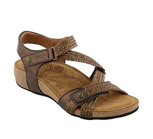 Taos Footwear Footwear Women's Trulie Bronze Sandal 12-12.5 M US