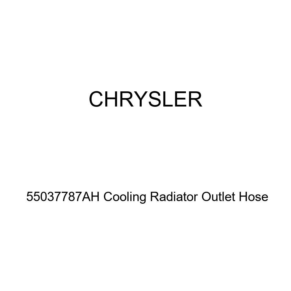 Genuine Chrysler 55037787AH Cooling Radiator Outlet Hose