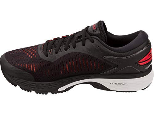 ASICS Gel-Kayano 25 Men's Running Shoe, Black/Classic Red, 7 D US by ASICS (Image #4)