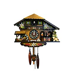 Alexander Taron Importer Battery Operated Black Forest Cuckoo Clock