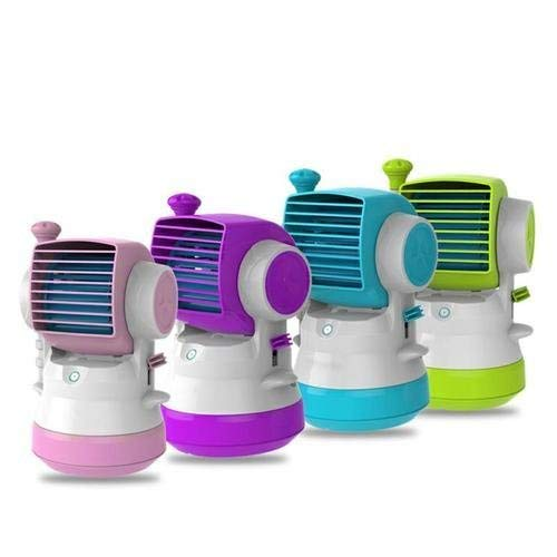 Mini Fan Humidifier Spray Handheld Desktop Portable For Student Office Home Room