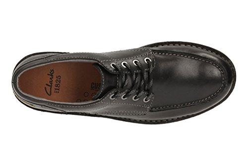 Clarks Sawtel Ridge, Sneaker uomo Nero nero