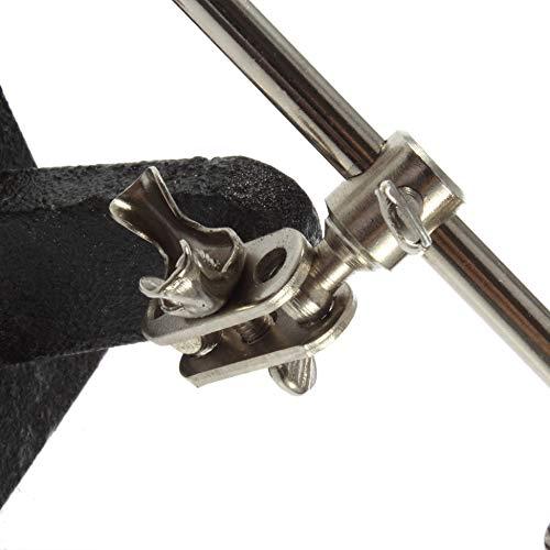 Support de fer /à souder de troisi/ème main aidant loupe clip outil loupe de r/éparation de bijoux loupe verre appareil argent