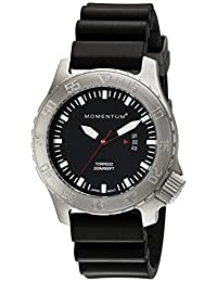 Momentum by St. Moritz Men's Torpedo Black Watch