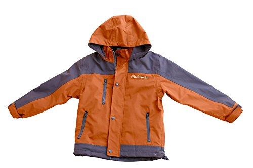 OAKI Children's Trail Fleece Lined Jacket, Orange 2T ()
