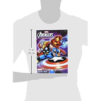 The Mighty Avengers Favorite Book To Color! Coloring & Activity Book: 32 Pages!!! Rescue Team Tear & Share Pages!: Toys & Games