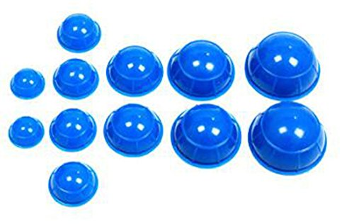 Glield 12pcs Cup Silicone Cupping Set for Chinese Cupping...
