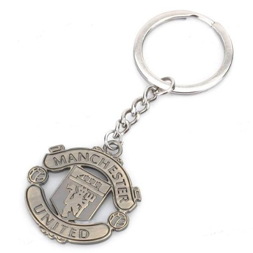 Manchester United FC Metal Keychain - Manchester Lanyard United