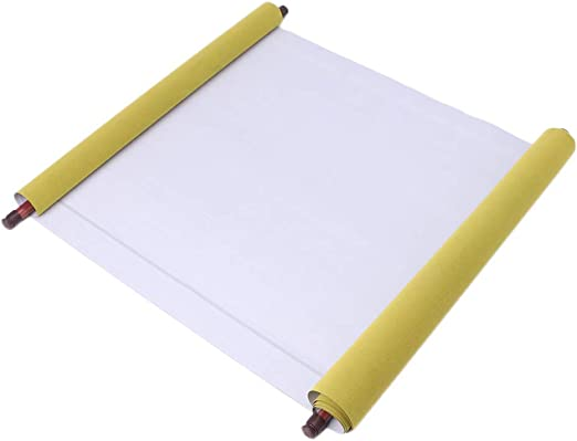 2pc Reusable Chinese Magic Cloth Water Paper Calligraphy Fabric Book Notebook Magic Cloth Water-Writing for Practicing Chinese Calligraphy Drawing Kanji Chinese Calligraphy fine Scroll 1.5 Meters