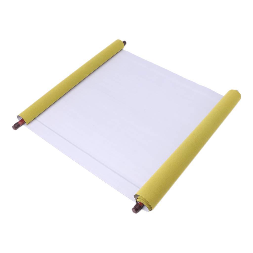 Junlinto Taccuino Cinese 1.5m del Libro del Tessuto di Calligrafia della Carta del Panno dell'Acqua Magica Riutilizzabile