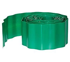 Dehner 245324 - Delimitador de bordes para jardín, color verde