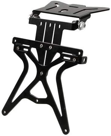 Compatible avec Ducati 749 Support de Plaque dimmatriculation r/églable pour Moto Lampe Aero-X 90146 Support de Plaque dimmatriculation homologu/é Universel Non sp/écifique Noir 270 x 190 x 35 mm