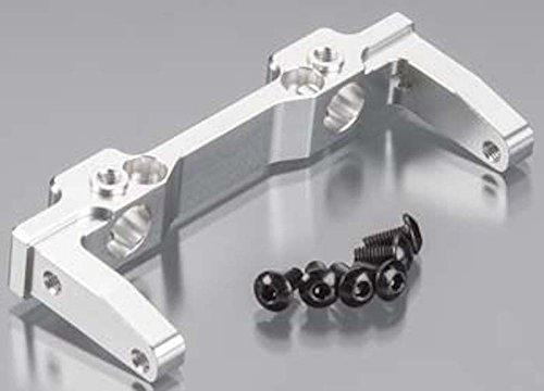 (ST Racing Concepts STA80125FS Aluminum Front Bumper Mount for SCX10 - Rubicon G6 Only - Silver)