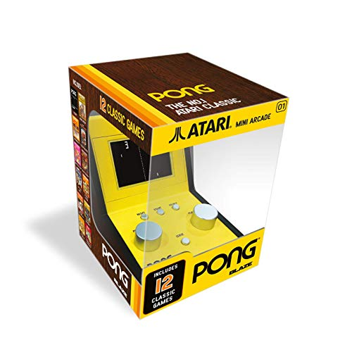Atari Pong Mini Arcade (with 5 retro games) (Electronic Games) from pqube