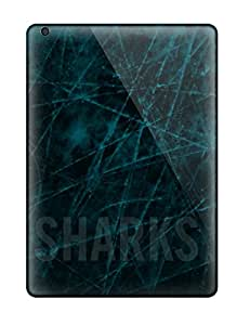 New Premium Flip Case Cover San Jose Sharks Hockey Nhl (57) Skin Case For Ipad Air