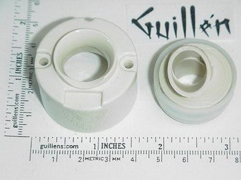 Almond Conversion Kit - Jacuzzi P124914; BMH Jet; Spinning conversion kit; in Almond   P123914  