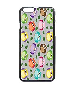 "Nice Customized Animal Print Colorful Owl Picture Unique Printed Hard Customized Case Cover , Iphone 6 (4.7"") Case Cover, Protection Quique Cover, Perfect Fit, Show Your Own Personalized Phone Case for Iphone 6 - 4.7 Inches"