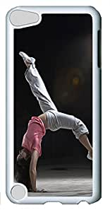 iPod Touch 5 Cases & Covers - Life Is Movement Custom PC Soft Case Cover Protector for iPod Touch 5 - White