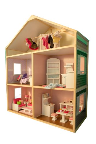 My Girl's Dollhouse for 18'' Dolls - Country French Style by My Girl's Dollhouse