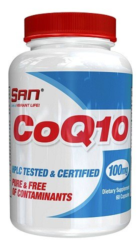SAN Nutrition Coq10 HPLC Tested & Certified Ubiquinone Supplement, 60 Count Review