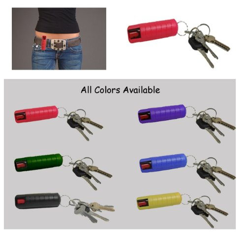 Plastic Keycase Beltclip Pepper Spray product image