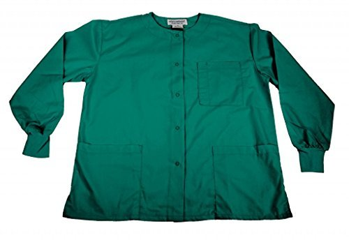 Natural Uniforms Women's Warm Up Jacket (Teal) (XX-Large) (Plus Sizes Available)