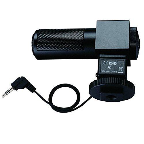 TAKSTAR SGC-698 Stereo Photography Shotgun Interview Recording Microphones for Nikon Canon Camera DSLR DV Camcorder