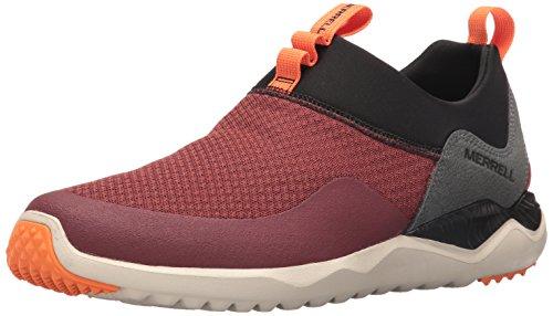 Merrell Men's 1SIX 8 Mesh Moc Fashion Sneaker, Fired Brick, 9.5 M US Brick Mesh