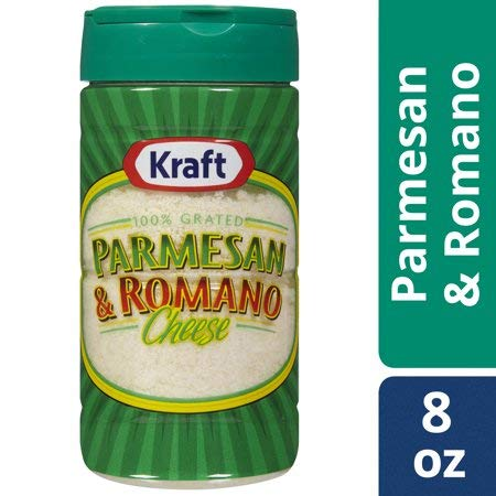 Expect More Kraft 100% Grated Parmesan & Romano Cheese Shaker, 3 ct. / 24 oz