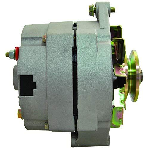 New Alternator 63Amp Self Exciting 1 Wire Hookup Delco 10SI Premium Regulator 10459509 - One Alternator Hook Wire Up