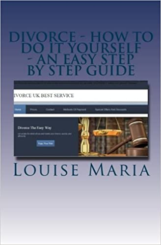 Divorce how to do it yourself an easy step by step guide a book divorce how to do it yourself an easy step by step guide a book aimed at uk residents which shows you how to manage your divorce quickly and cheaply solutioingenieria Choice Image