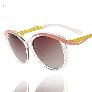 ZHIRONG Gafas de sol Ms Polarized HD, espejo de playa de viaje de gran marco Fashion ( Color : B )