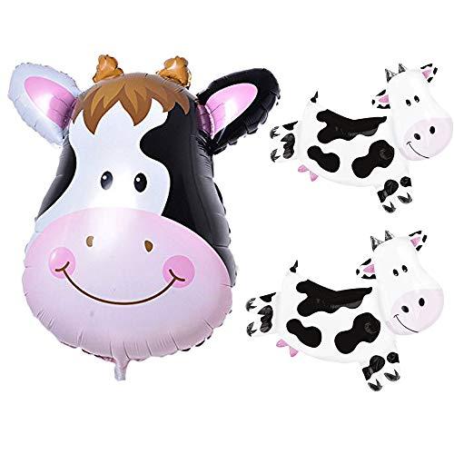 - Cow Balloon Kids Farm Animal Cow Theme Birthday Party Supplies Birthday BBQ Party Decorations