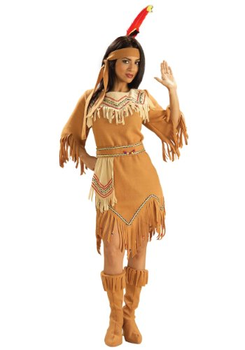 Forum Women's Prairie Maiden Costume, Tan, -
