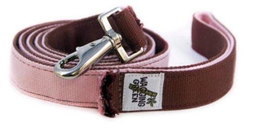 wagging green Organic Dog Leash - Bamboo Dog Leash for Girl Dog Seashell Tree ()