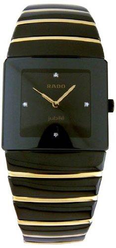 Rado Sintra Jubile Ceramic and Gold Mens Watch R13335721