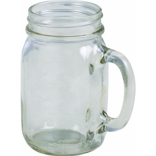 1702 16 oz. Golden Harvest Mason Jar Drinking Mug (Pack of 24) ()