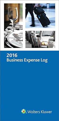 Business Expense Log, 2016 (Business Expense Log Book)