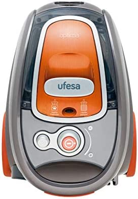 Ufesa AS5200 Aspirador Sin Bolsa, 700 W, 2 litros, 77 Decibelios, Naranja y gris: Amazon.es: Hogar