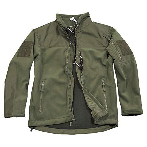 Condor Micro Fleece Jacket (Olive Drab, Large)