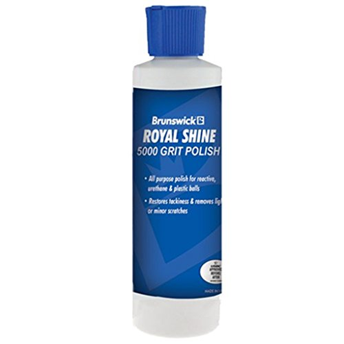 Brunswick Royal Shine Bowling Ball Polish- 6 ounce bottle