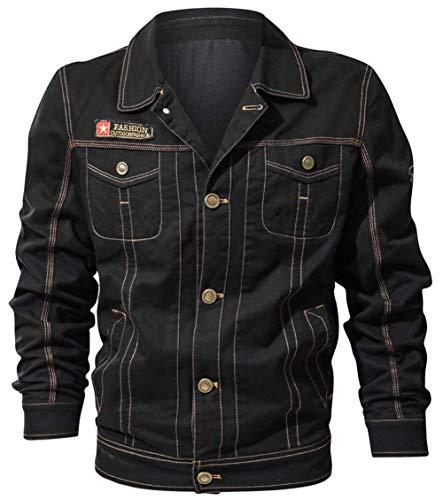Pocket Otoño Classic De Hombres Size Color Moda Chaquetas Hombres Hombres Hombres Outwear Multi SG Bomber Jacket Piloto Schwarz Jacket Sport Sweat Algodón 4 Jacket Ntel Chaqueta qdwI0t