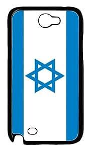 Israel Flag Custom Samsung Galaxy Note II N7100 Case Cover ¨C Polycarbonate ¨CBlack
