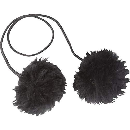 Cashel Horse Ear Plug Sheep Skin Sheepskin Size: Medium