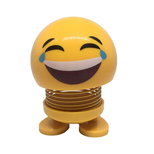 (XUHAIXIANG Title: Smiling Face Spring, Bouncing Doll, Car Smiley Doll, Desktop Dolls)