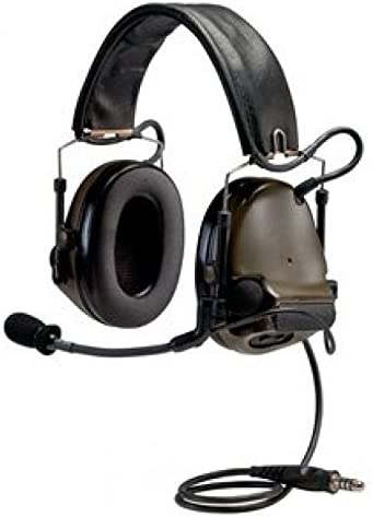 3M PELTOR COMTAC III ACH Tactical Communication Headset MT17H682FB-47 GN Single COMM Headband