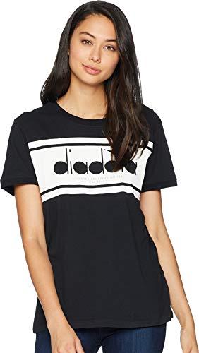 - Diadora Women's Short Sleeve Spectra T-Shirt Black/White Small