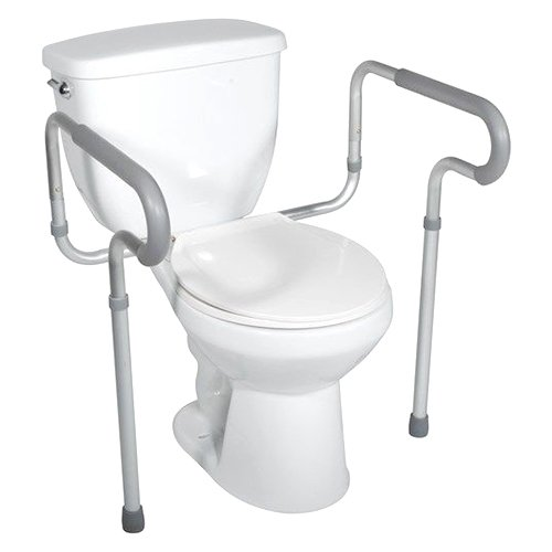 Drive Medical Toilet Safety Frame, White by Drive Medical