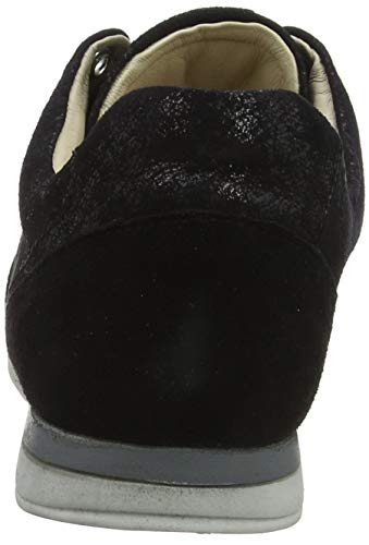 caruso kid Sneakers Shoes Black Lotta Suede Noir Marc Femme Basses 00768 nSRA8qOH