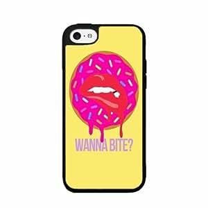 """Frosted Donut - """"Wanna Bite Kimberly Kurzendoerfer"""